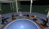 kenji, Resting, Stevenaia, Pila, Dakini, and Eos appreciating sense perceptions of stuff seeming to be out there