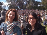 Eliza and Genesis at Golden Gate Park, 420 Day