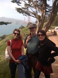Eliza, Pema, Genesis by Golden Gate Bridge