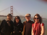 Eos, Genesis, Pema, Eliza by Golden Gate Bridge